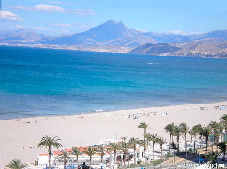 пляж сан хуан аликанте