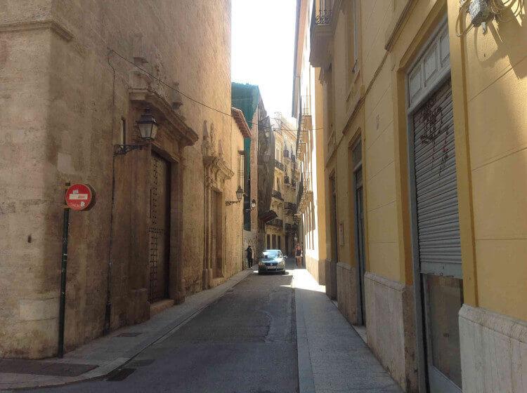 Центральный район Валенсии - фото