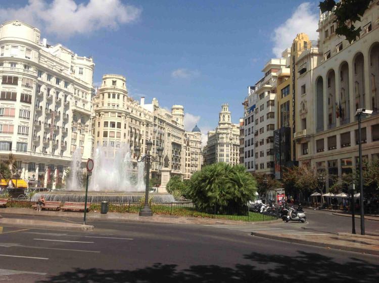Центр города Валенсия