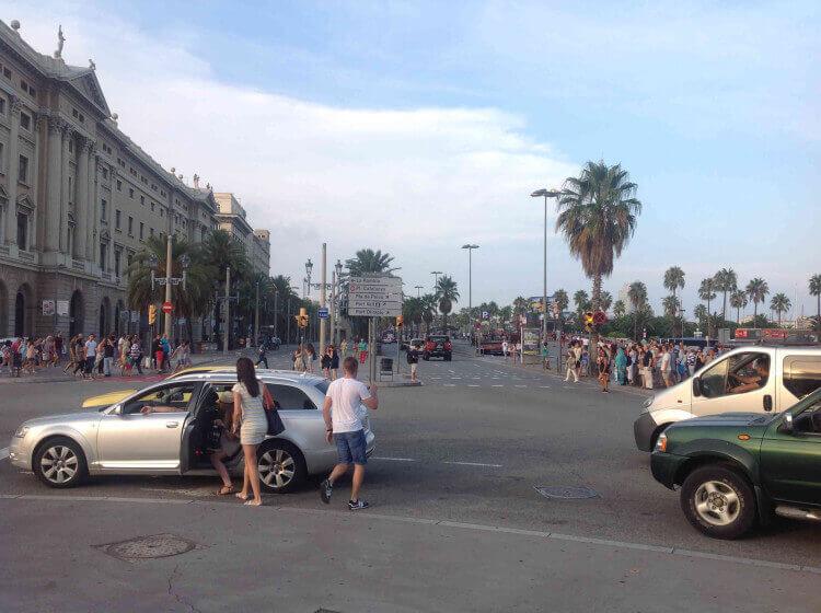 Набережная Барселоны - фото