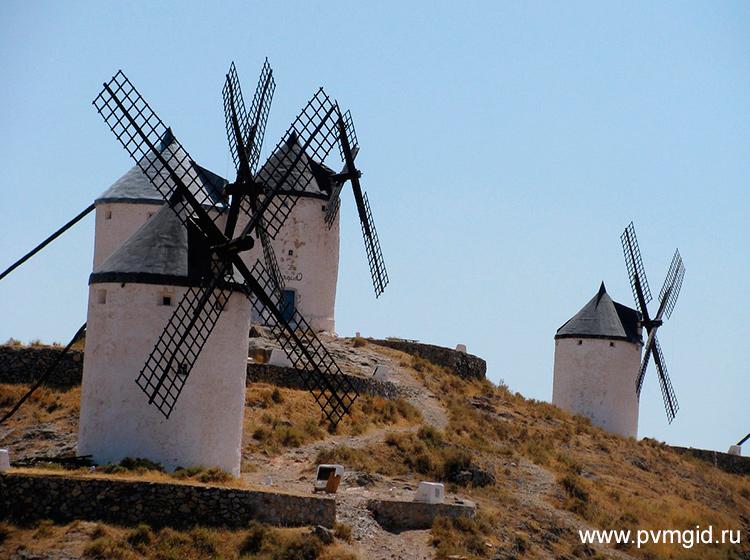Ветряные мельницы - фото