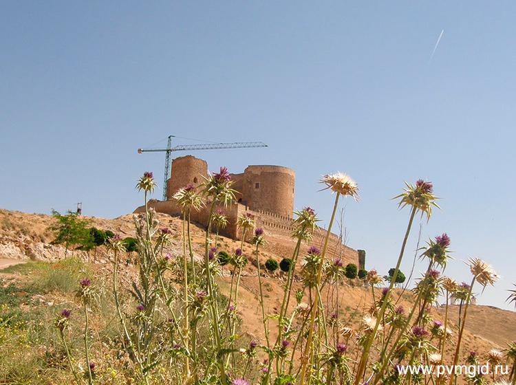 Замок на реставрации - фото