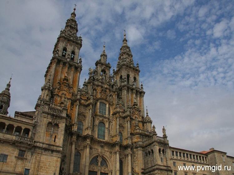 Собор в Сантьяго де Компостела - фото