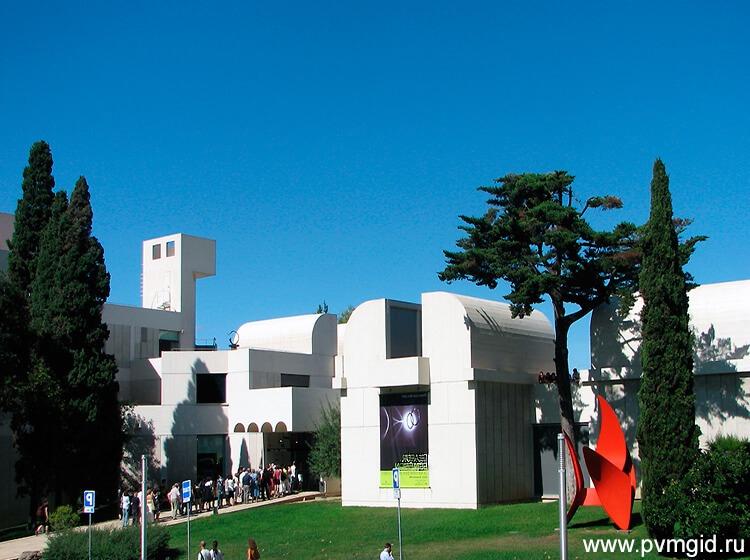 Фонд Жоана Миро в Барселоне - фото