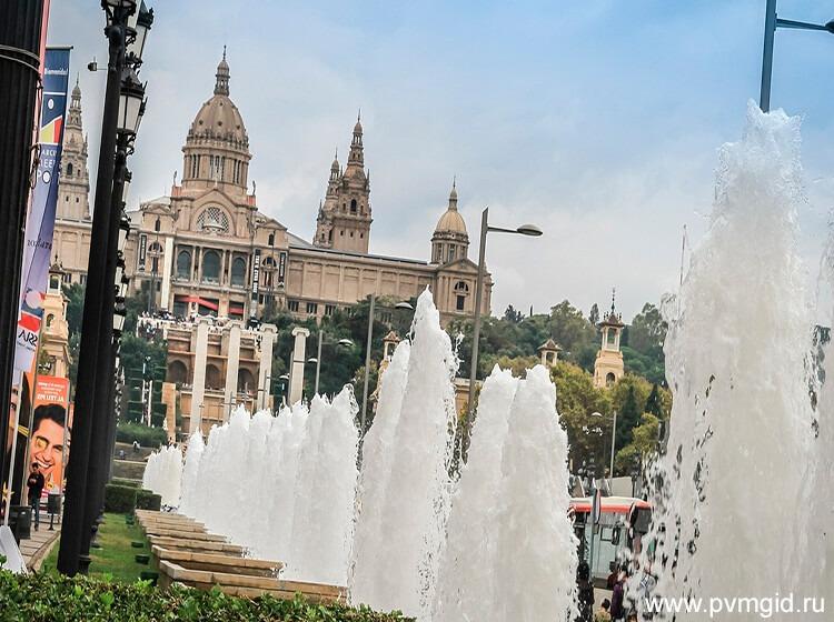 Магический фонтан Монжуика Барселона Испания Время работы как добраться фото история