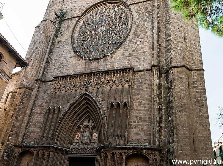 Собор Санта Мария дель Пи - фото