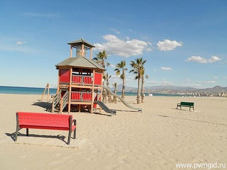 Пляж Эль Кампельо
