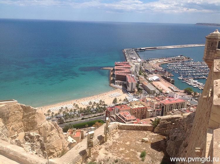 Пристань Аликанте - фото