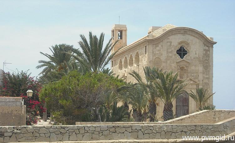 Церковь Иглесия де Сан Педро и Сан Пабло - фото