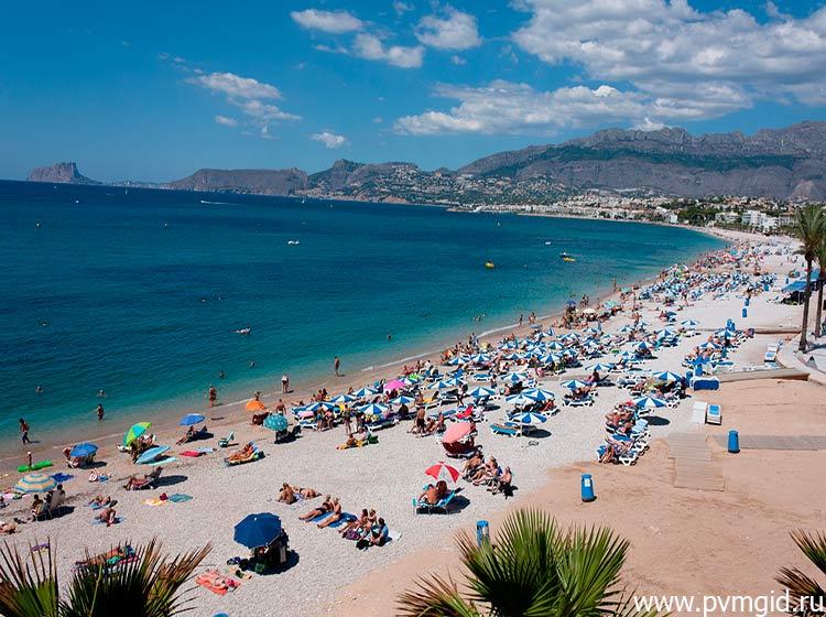 Пляж Playa Racó de L´Albir - фото