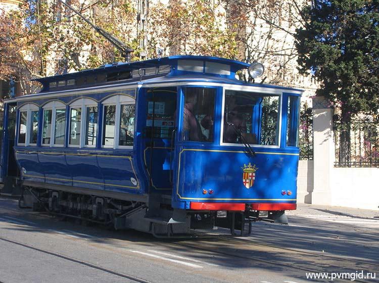 Трамвай на Тибидабо - фото