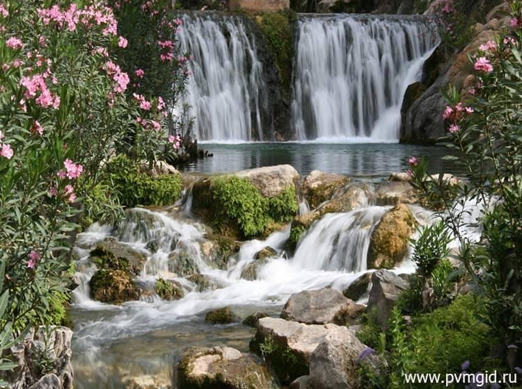 Водопады Альгара - фото
