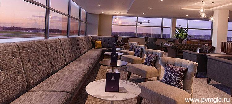 VIP зал в аэропорту Аликанте - фото