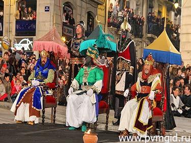 Праздник Трех Королей - фото