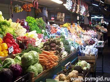 Рынок в Аликанте - фото