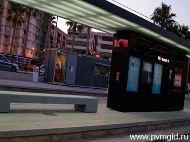 Автовокзал города Аликанте