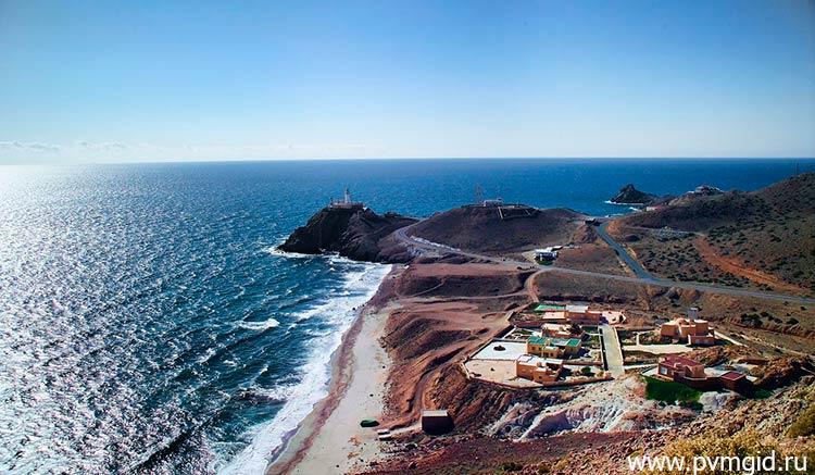 Береговая линия Альмерии - фото