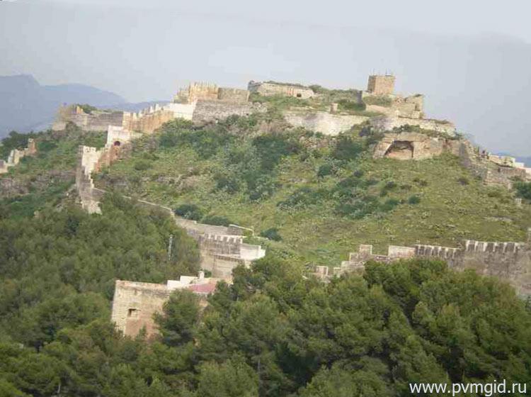 Крепость в Сагунто - фото