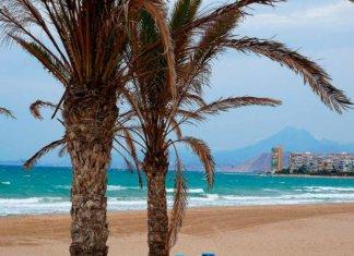 Один из пляжей Аликанте