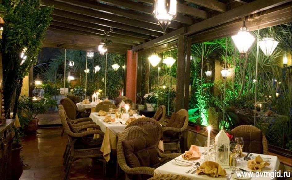 Один из лучших ресторанов Кальпе