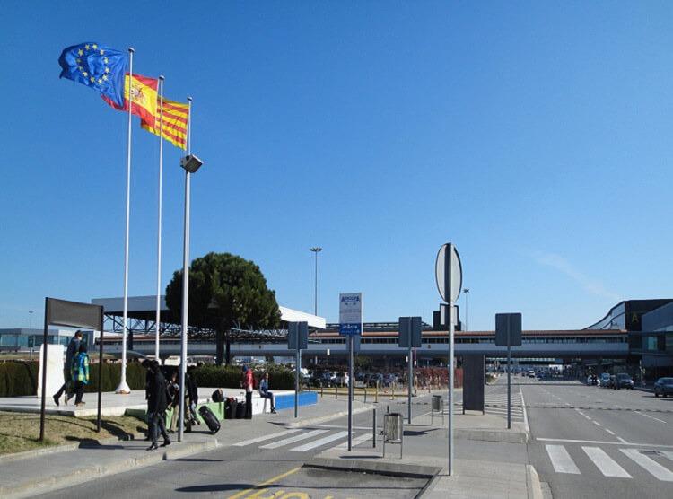 Остановка автобусов в аэропорту