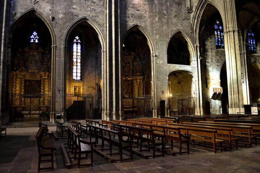 Внутри храма Святой Марии