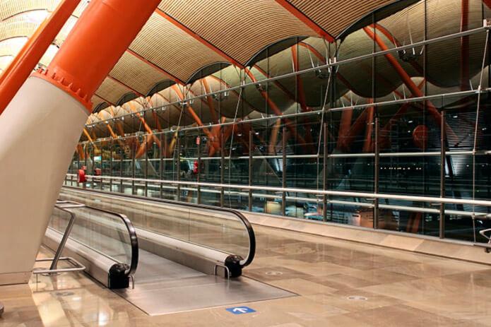 Один из терминалов аэропорта Барахас