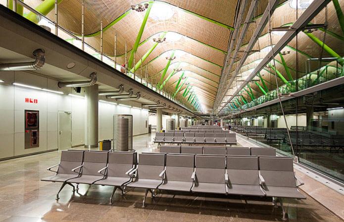 Зал ожидания аэропорта