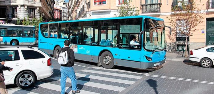 Из аэропорта в центр Мадрида на автобусе