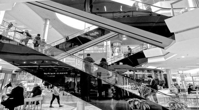 Торговый центр в Мадриде