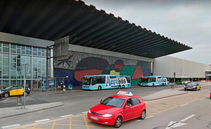 Автобусы Aerobus остановка