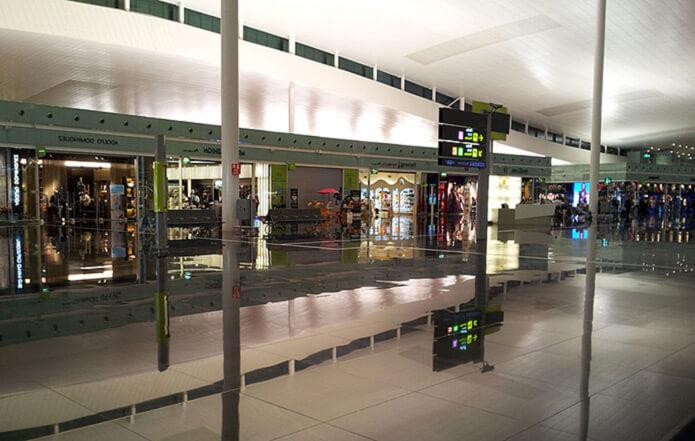 Магазины в аэропорту Барселоны
