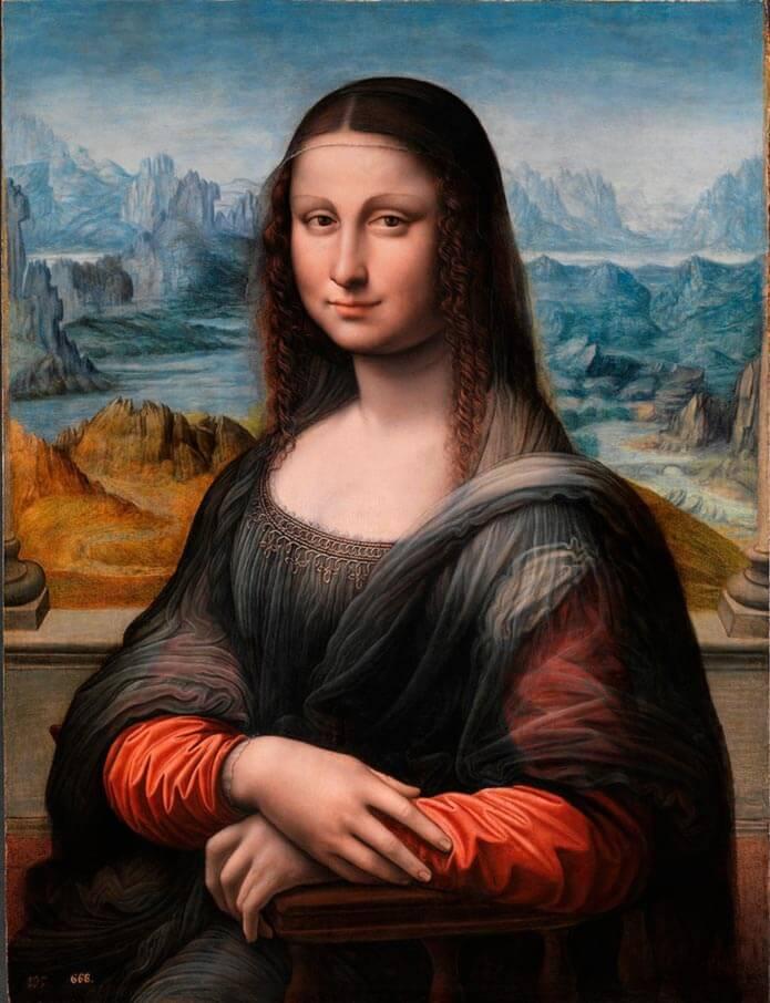 Копия портрета«Мона Лиза»