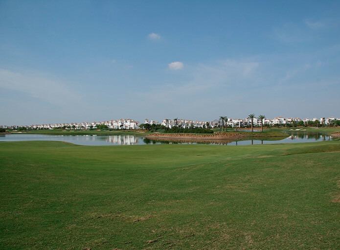 Поле для гольфа в Мурсии