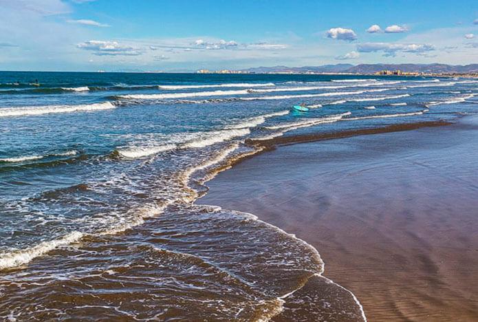 LaMalvarossa - один из лучших пляжей Валенсии