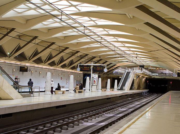 Станция метро Аламеда
