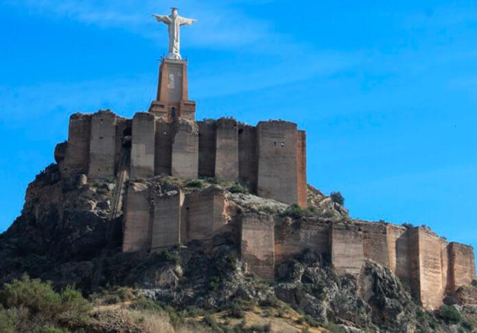 Статуя Христа в Монтеагудо