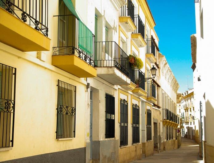 Город Лорка в Испании