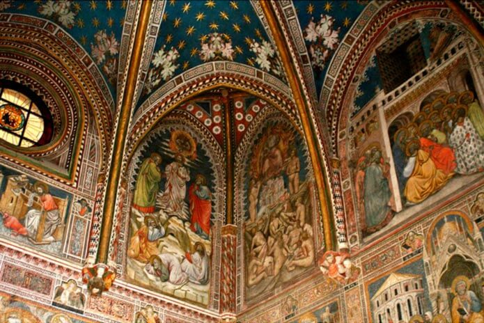 Часовня Сан-Блас в кафедральном соборе Толедо