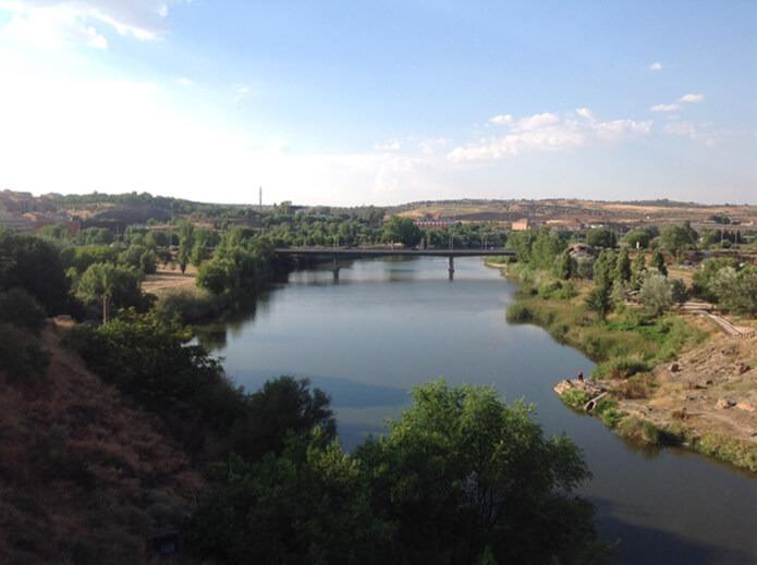 Река Тахо в окрестностях Толедо