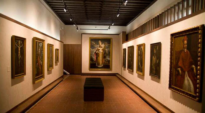 Картины известных художников в музее Эль Греко в Толедо