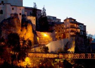 Город Куэнка в Испании