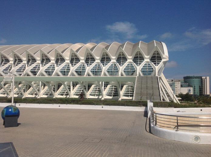 Музей науки принца Филипе - город науки и искусств в Валенсии
