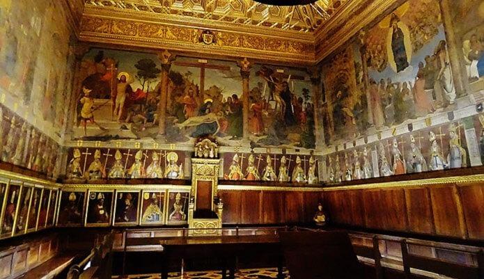 Картины известных художников в Толедском соборе