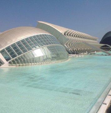 Город науки и искусств в Валенсии