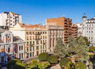 Город Альбасете в Испании