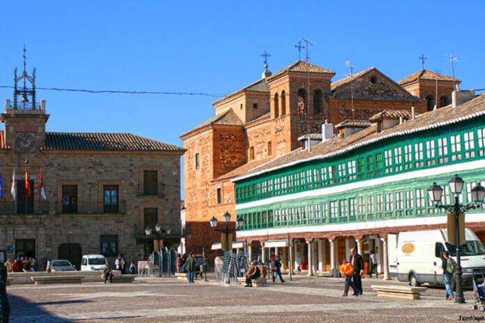 Альмагро - городок недалеко от Сьюдад Реаль