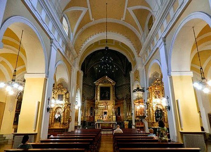 Интерьер церкви святого Фомы