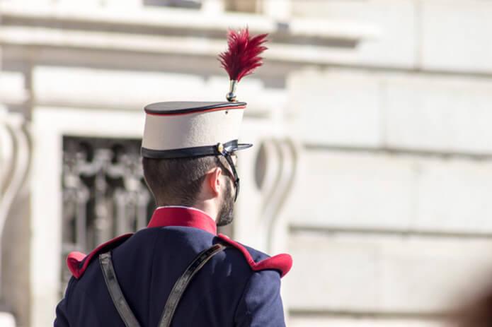 Королевский гвардеец в Мадриде - фото