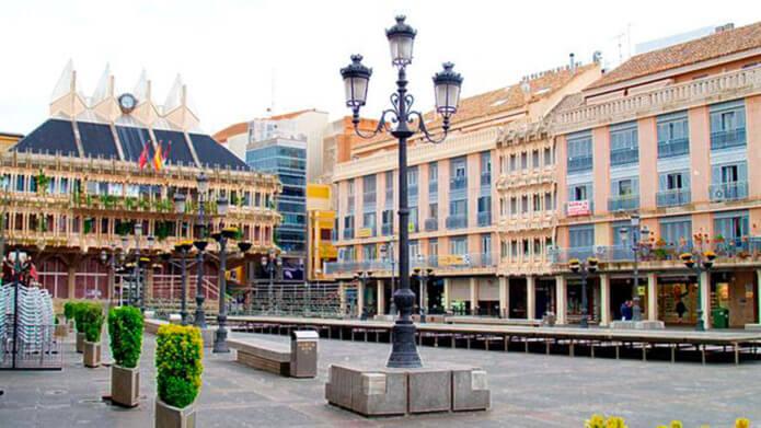 Плаза Майор в Сьюдад Реаль - фото